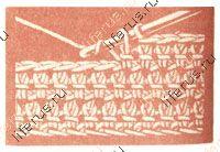 Вязание крючком узелками