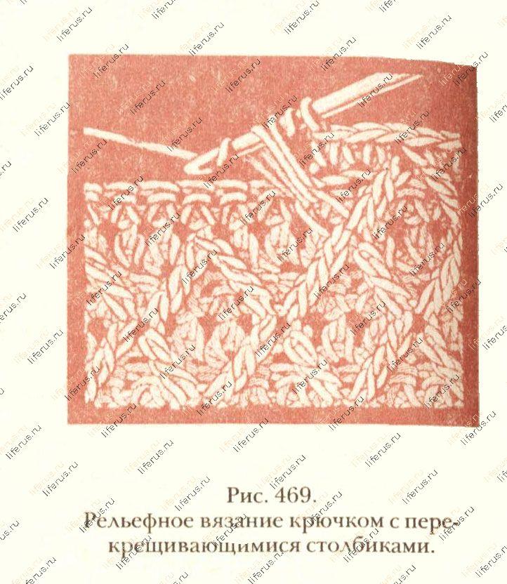 Вязание крючком. Схемы вязания