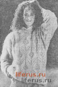 Нарядный пуловер размер 48-50
